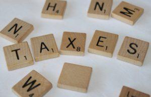 Taxes Scrabble