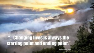 Changing Lives Quote